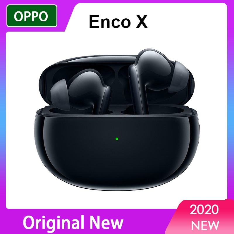 Original OPPO Enco X TWS Earphone Wireless Bluetooth 5.2 Earbuds Active Noise Cancellation For OPPO Reno 4 Pro SE Mobile Phone enlarge