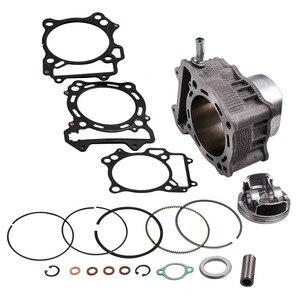 Top Big Bore Cylinder Piston Gasket Kit For Suzuki LTZ 400 2003-2014 434cc