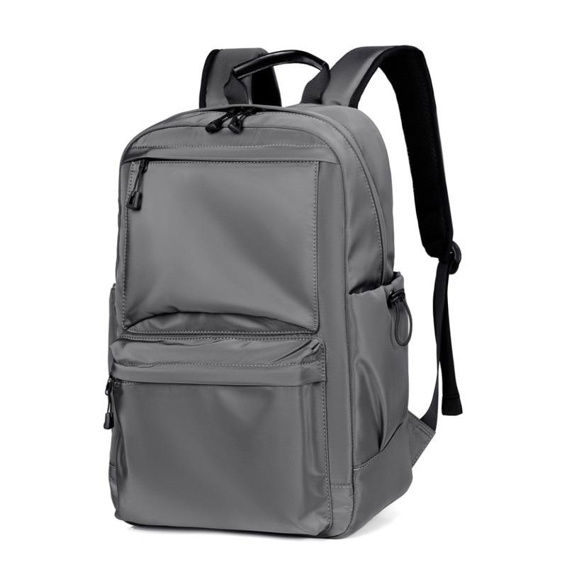 Мужской водонепроницаемый рюкзак, черный вместительный школьный рюкзак из ткани Оксфорд, дорожный рюкзак для ноутбука, 2021