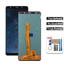 Pour SAMSUNG GALAXY A7 2018 écran LCD écran tactile avec cadre A750 A750F SM-A750F / DS écran SM-A750G pour SAMSUNG-A7 2018 LCD
