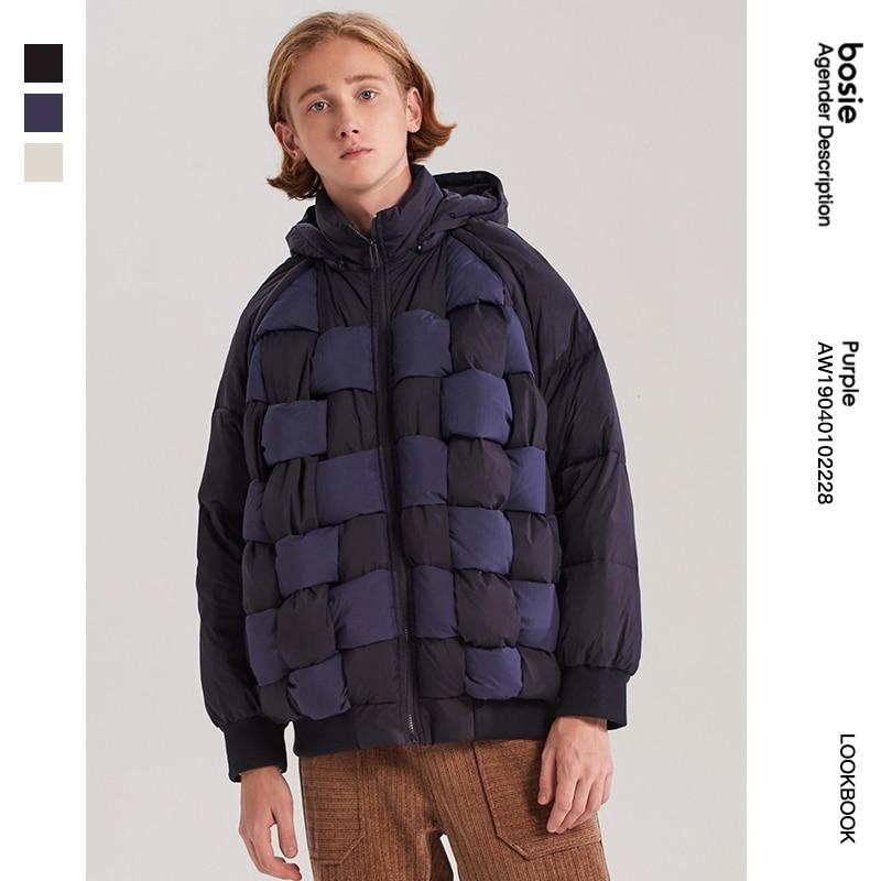 bosie  down jacket personality woven detachable autumn men/women the same designer tide brand 2228