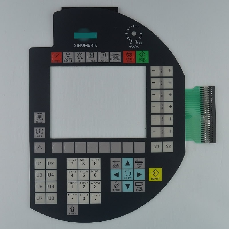 6FC5403-0AA20-1AA0 ، A5E00363443 اللمس الزجاج و غشاء لوحة المفاتيح ل SINUMERIK HT8 لوحة إصلاح ~ تفعل ذلك بنفسك ، دينا في المخزون