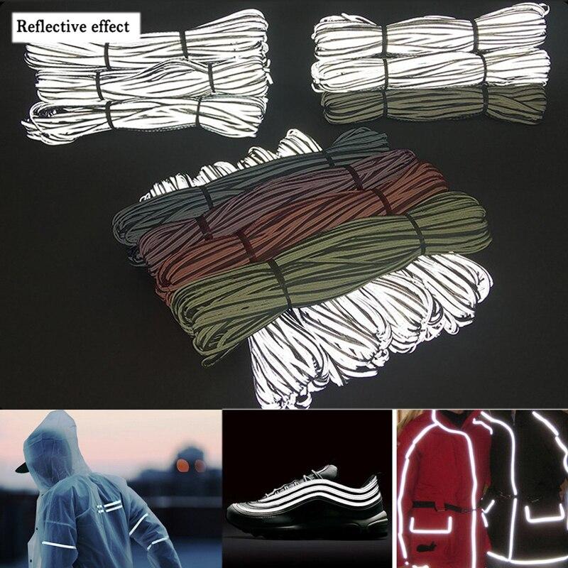 Яркая серебристая Светоотражающая полоса с высокой видимостью, отделочная лента, ткань для одежды, материал Швейное Ремесло «сделай сам»