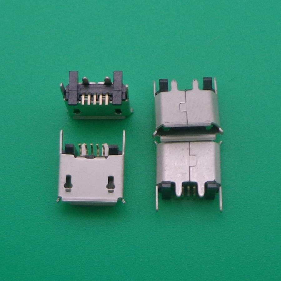 1 pçs micro mini usb jack tomada porto de carregamento doca para ZX80-B-5P micro usb b tipo vertical smt 5p conector