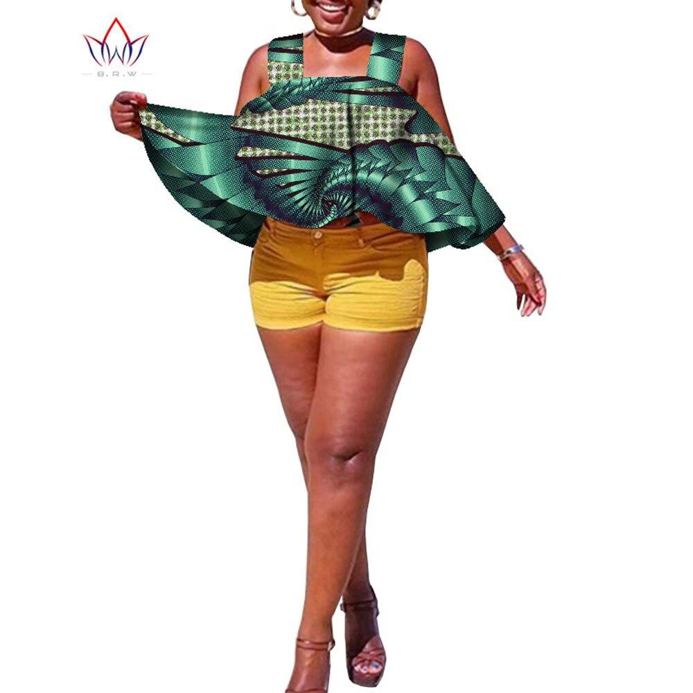 Лето 2021, африканские рубашки для женщин Dashikis 6xl, африканская одежда, Женская традиционная африканская одежда, хлопковая верхняя одежда разм...