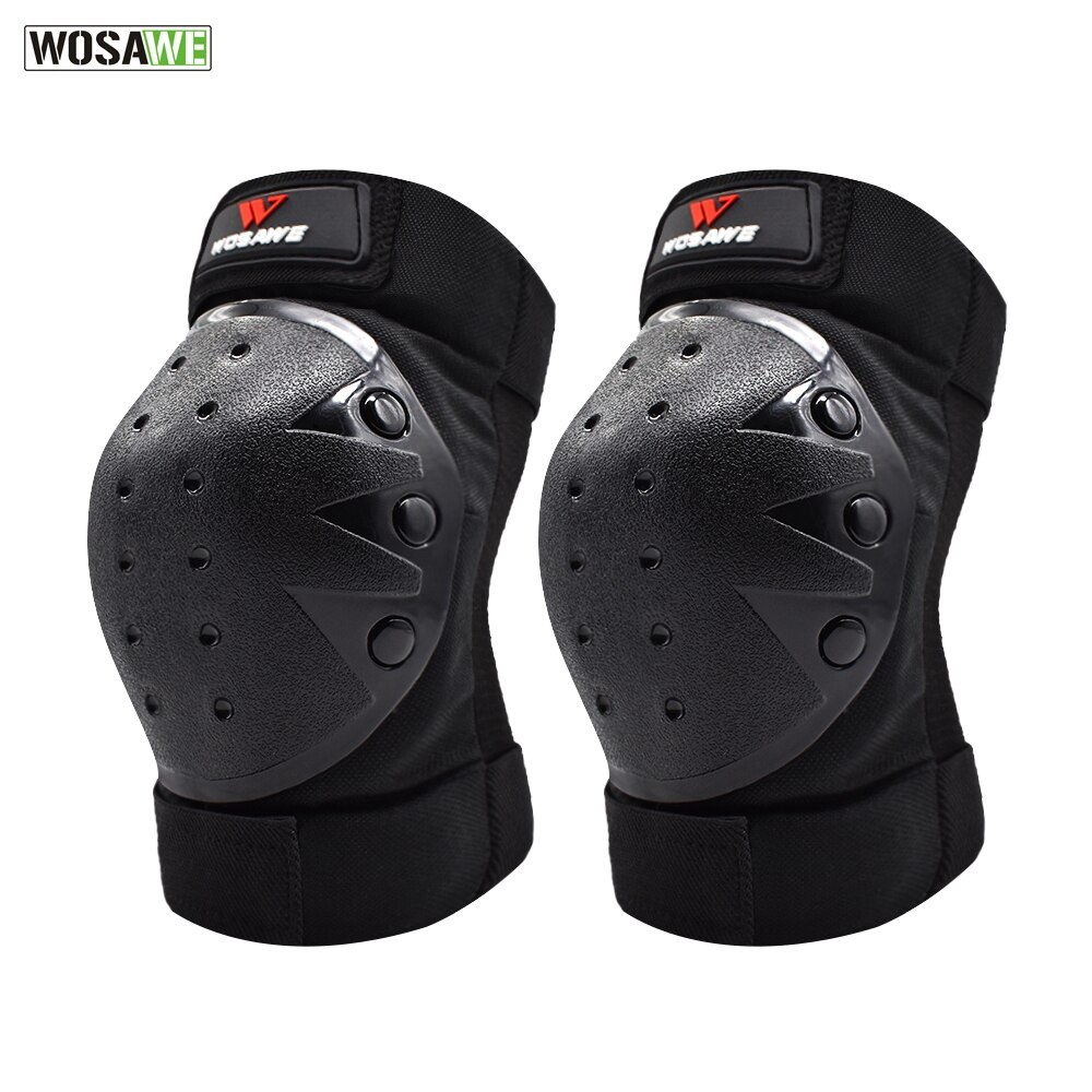 WOSAWE protection genouillère pour motocross   Genouillère de protection pour équitation ski et snowboard, protection pour le genou des motos
