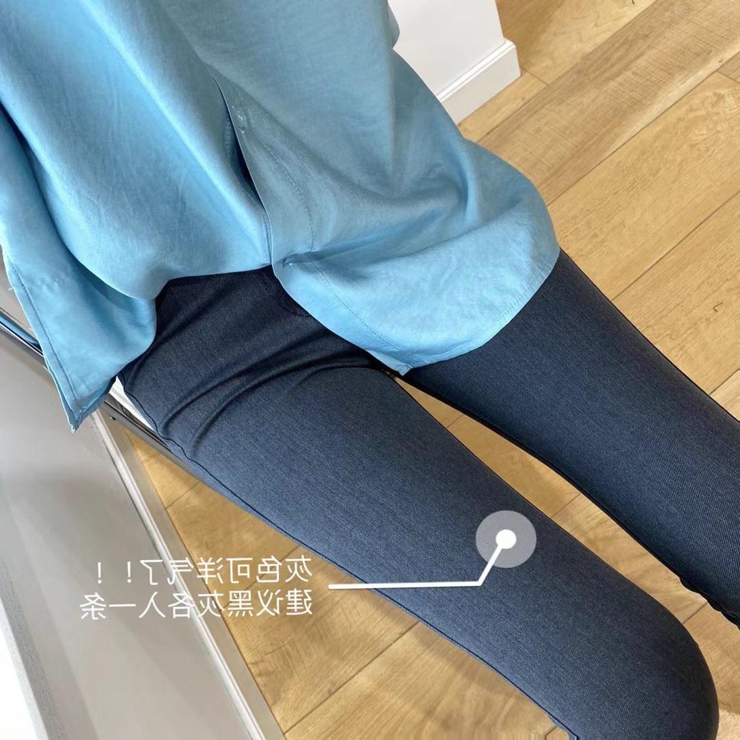 Pants Women  Women's Clothing Autumn Passengers Wear High Elastic Bottoms And Small Leg Pants