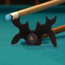 Plastic Snooker Billiards Cue Rack Bridge Head Cross Holder Antlers Rod Pool Cue Stick Holder Pool Table Accessory