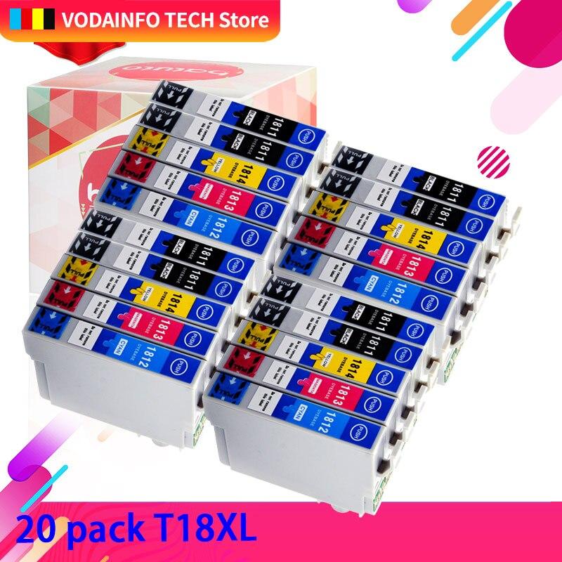 QSYRAINBOW совместимый чернильный картридж 1811 T 1811 для Epson xp-325 xp-405 XP-405 XP-215 - XP-412 XP-315 xp XP-212 принтер