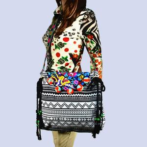 Free shipping fees Vintage Hmong Tribal Ethnic Thai Indian Boho shoulder bag message bag for women embroidery Tapestry SYS-570