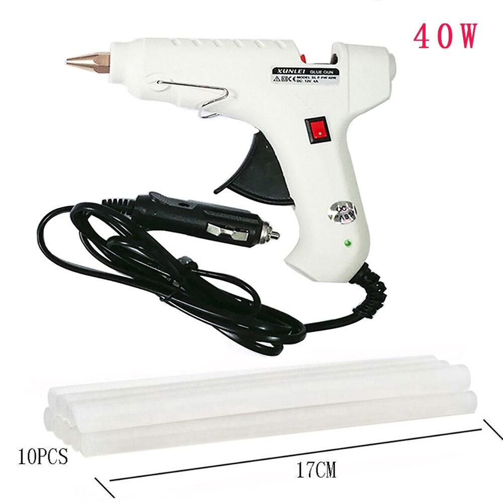 Paintless Dent Repair Tool Set 40W Car Glue Gun Glue Stick Suction Cup Car Body Hand Tool Pulling Bridge Hammer Hand Tool Set