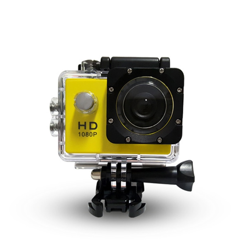 Action Camera Waterproof Sports Cam Wide Angle Lens DV Camcorder Rechargeable QJY99
