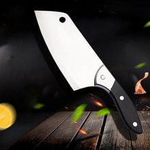 SHUOJI Professionelle Küche Messer 7 Zoll Scharfe Klinge Hacken Chef Messer 5Cr15 Edelstahl Kochen Messer 58HRC Cleaver Werkzeug