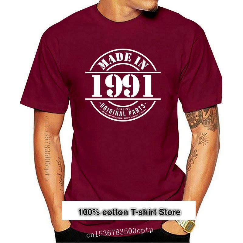 Camiseta divertida hecha en 1991 para hombre de regalo de Navidad para...