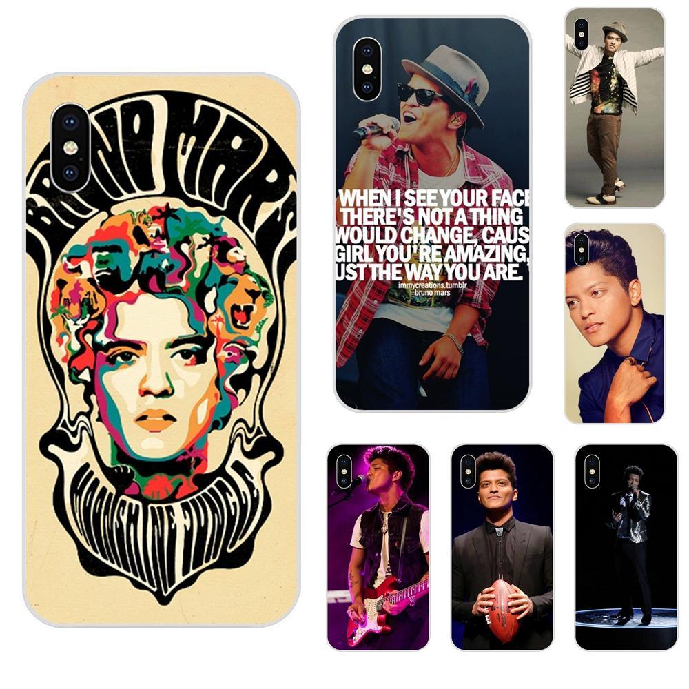 TPU Capa caso Bruno Marte Luna selva Tour para Samsung Galaxy Note 5 8 9 S3 S4 S5 S6 S7 S8 S9 S10 5G mini Plus Lite