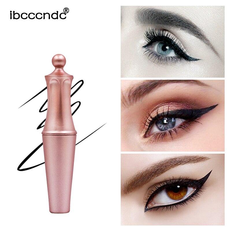 Delineador de ojos líquido magnético para pestañas postizas magnéticas delineador de ojos impermeable maquillaje de oro rosa fácil de usar ojo líquido de secado rápido