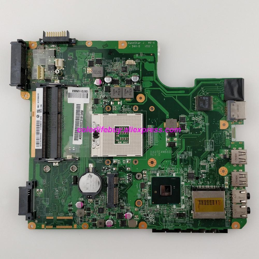 Genuino A000093220 DA0TE4MB6D0 HM55 DDR3 ordenador portátil placa base para Toshiba Satellite L740 L745 Notebook PC