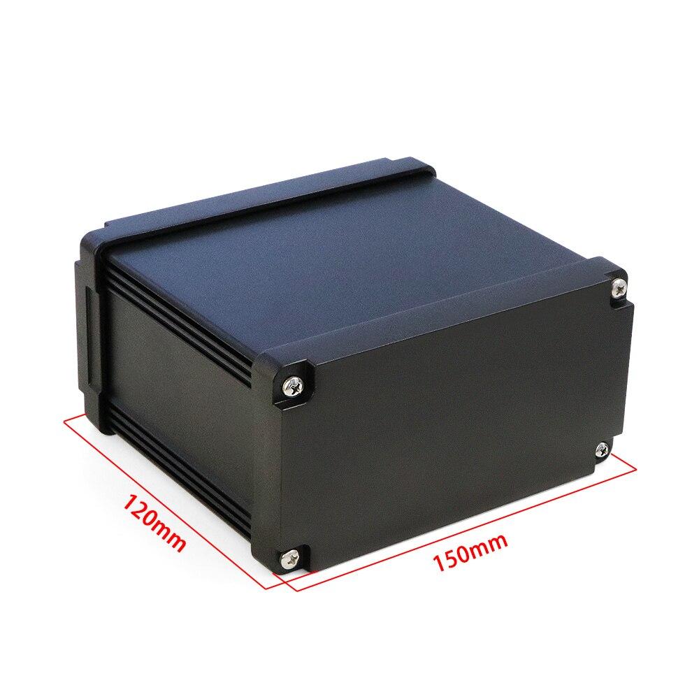 Szomk عالية الجودة IP68 مانعة للماء الألومنيوم البثق الضميمة الإلكترونية جهاز AK-C-B91 شحن * 120*75 مللي متر