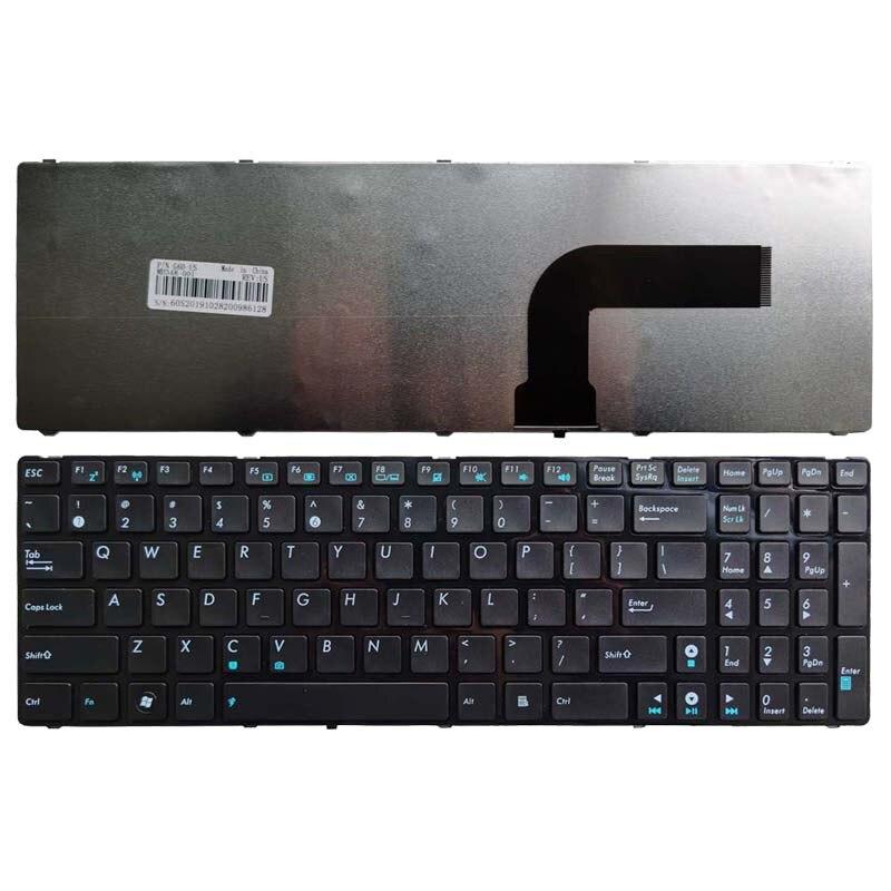 Novo Teclado DOS EUA para ASUS K52 X61 N61 G60 G51 k53s MP-09Q33SU-528 V111462AS1 0KN0-E02 RU02 04GNV32KRU00-2 Laptop