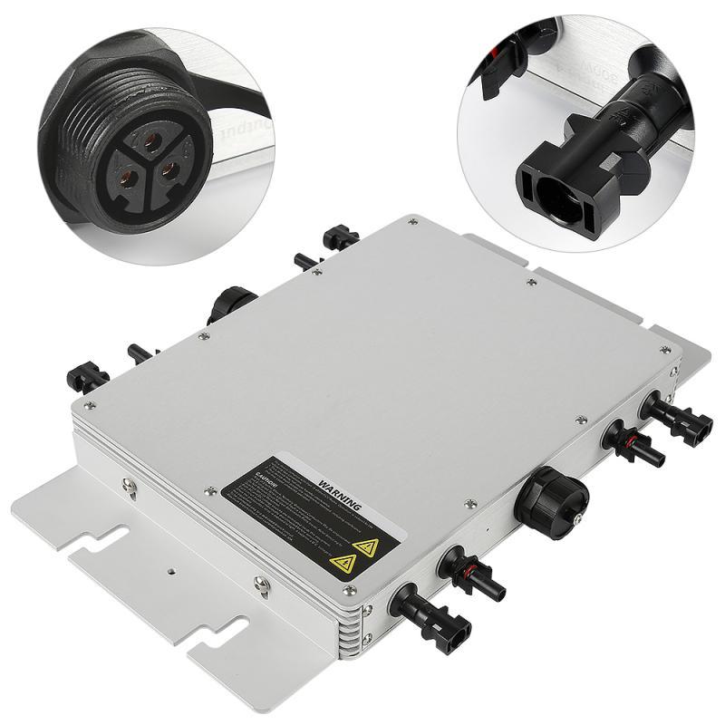 WVC1200W الشمسية الهجين العاكس موجة جيبية نقية 230 فولت الناتج العاكس للطاقة الشمسية المدمج في جهاز التحكم في الشحن LED تنمو امب