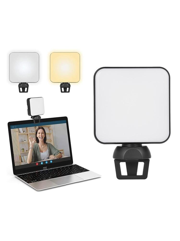 نوع-c فيديو مؤتمر ملء ضوء قابل للتعديل المحمولة LED مصباح الهاتف المحمول كاميرا الكمبيوتر بث مباشر التصوير ضوء