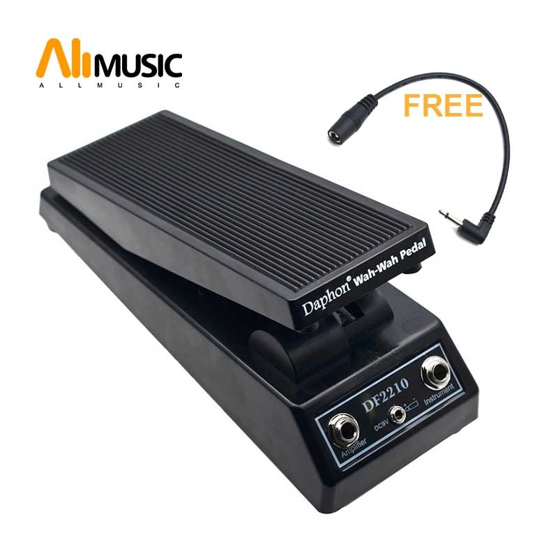 Dafon df2210 guitarra wah wah pedal para jogadores de guitarra elétrica dj com conector gratuito