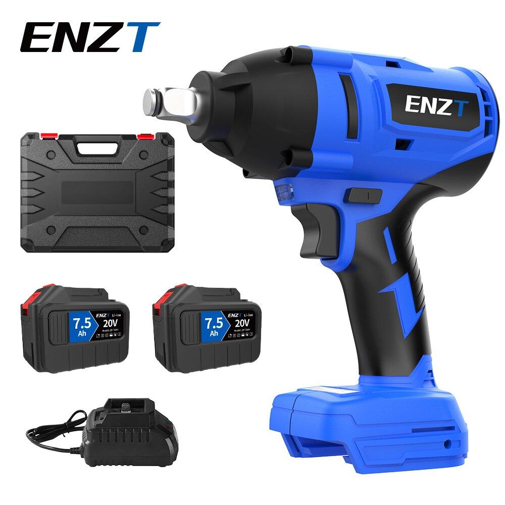 ENZT True 600N.m With battery For Makita Powered Brushless Impact Wrench For Car Repair Truck Repair
