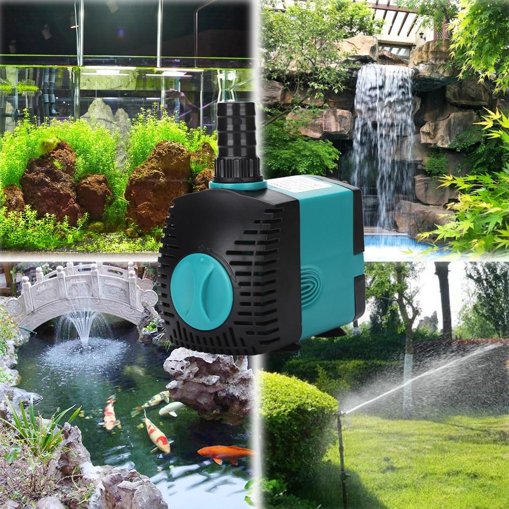 3W 6W 10W 15W 25W ultra tihi potopljeni filter pumpe za vodoskok za - Kućni ljubimci - Foto 3