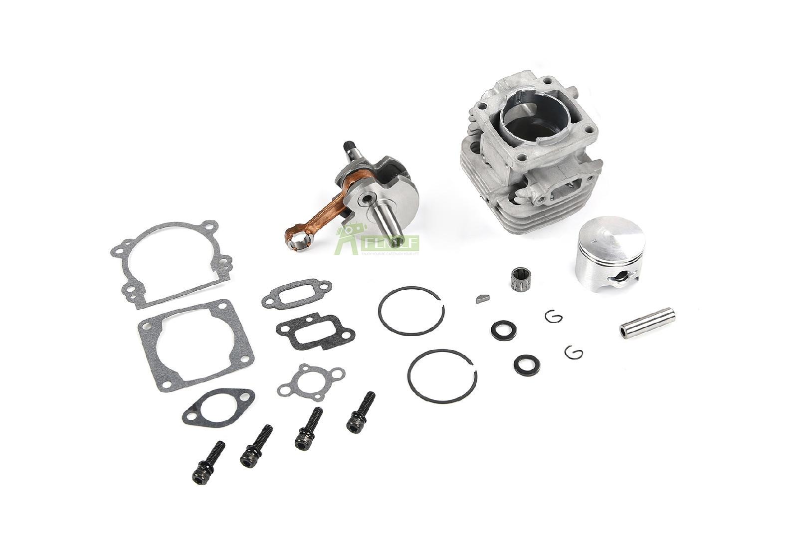 32 Upgrade 36cc Double Piston Ring Retrofit Kit 2t Gasoline Engine For 1 5 Hpi Rovan Rofun Km Baja Losi 5ive T Fg Goped Redcat Parts Accessories Aliexpress