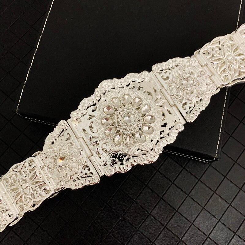 Марокканская мода, позолоченная поясная цепочка с ремнем, Арабская Свадебная бижутерия Дубай, цепочка, золотистый свадебный пояс