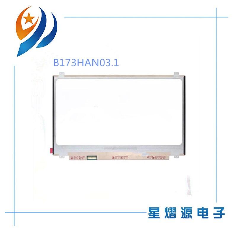 17.3'' FHD 16.2M color 144HZ Laptop lcd screen B173HAN03.1 Fit B173HAN03.2 B173HAN03.0 40 pin EDP