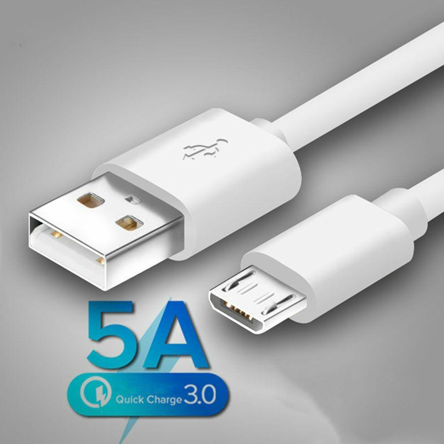 Cable Microusb de carga rápida para móvil, Cable Micro USB Original para...