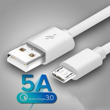 Original Micro USB Cable Fast Charging For Redmi 7 7A Note 5  Mobile Phone Microusb USB Cable For Sa