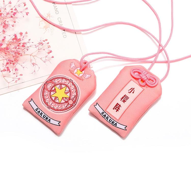 AliExpress - Anime Card Captor SAKURA Amuleto Cosplay Toy Prop Fans Girl Friend Gift Collection Gift Drop Ship