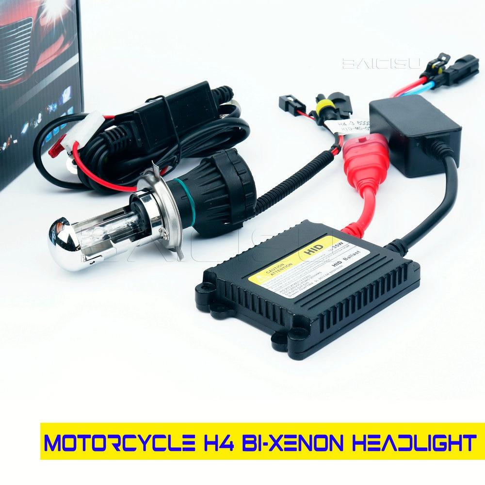 Lámpara de Xenón hid para motocicleta, kit de luz hid de 35w,...