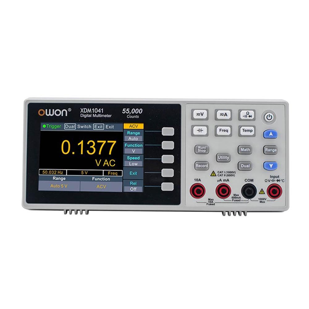 مقياس رقمي متعدد من owin XDM1041 متعدد 55000 مقياس متعدد عالي الدقة لسطح المكتب مقياس تيار مستمر/تيار متردد مقياس رقمي RMS USB متعدد
