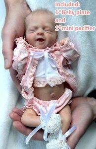 bebe reborn kit Salia 12.5 Inches Reborn Baby Vinyl Doll Kit  Unpainted Unassembled Doll Parts DIY Blank Reborn Doll Kit