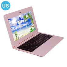 10 Inch Android 5.1 Actions Quad-core S500 Laptop Android Netbook Computer 1+8G Portable Notebook La