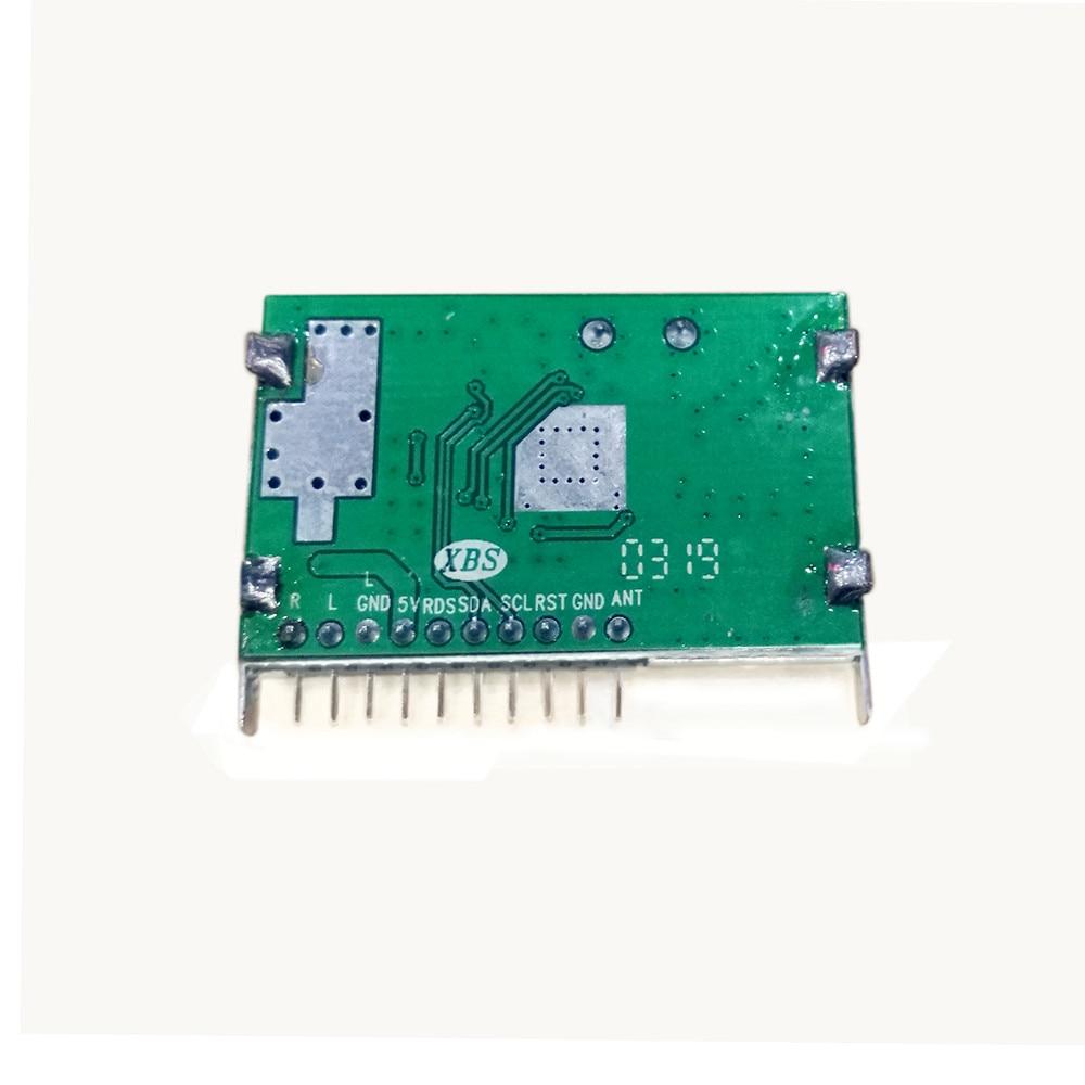 TEF6686 رقاقة سيارة نظام صوت للتنقل باستخدام جهاز تحديد المواقع وحدة AM/PM موالف الراديو