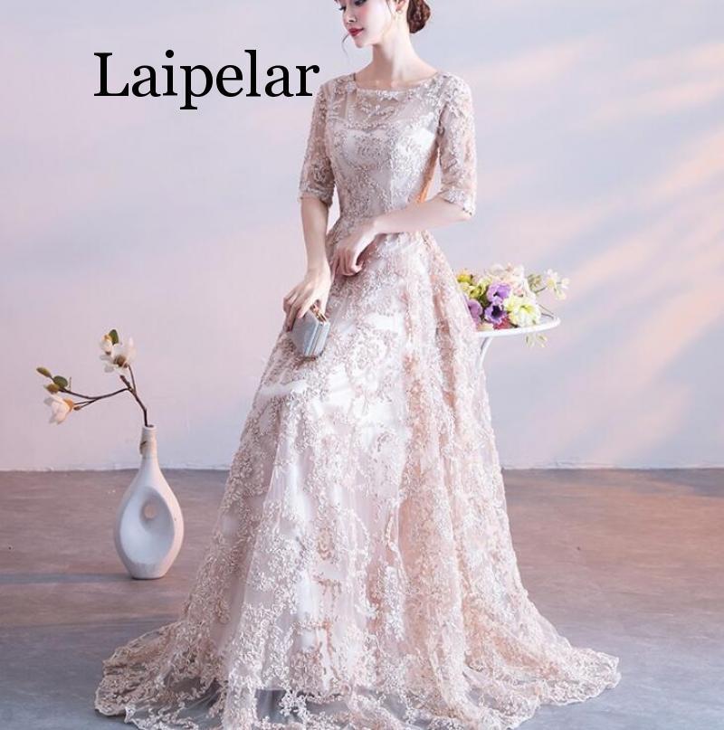 Laipelar Women pleated dress 2019 spring autumn female vintage elegant long sleeve loose casual office lady dress