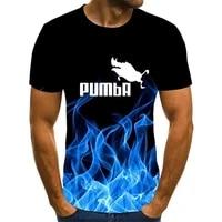 2021 mens short sleeve tesla car logo mens t shirt summer casual gradient t shirt fashion hip hop
