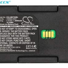 Cameron Sino 2600mAh/3400mAh Battery 159904-0001, 163467-0001 for LXE MX7