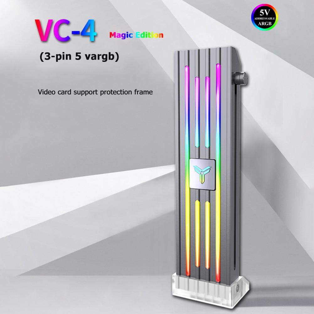 Jonsbo VC-4 ARGB подставка для видеокарты GPU бандажный держатель для ATX/MATX/ITX Chassis Comupter PC Настольный чехол