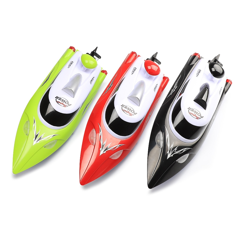 High Speed RC racing Boat 35km/h 200m Control Distance Fast Ship With Water Cooling System HJ806 enlarge