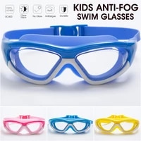 swimming glasses waterproof anti fog arena prescription swim eyewear water silicone big diving goggles uv protect men women kid