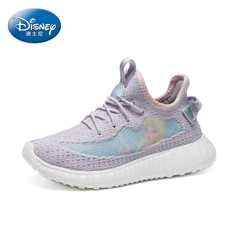 Limited Edition Disney Frozen Aisha Princess Children's Sneakers Running Shoes Mesh Lightweight Kids Shoes for Girl Kids Fashion enlarge