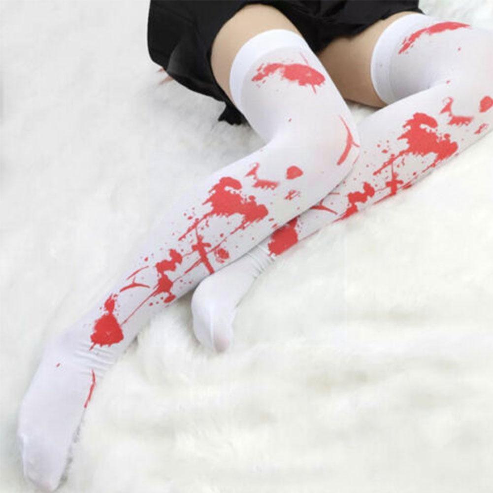Halloween Blood Socks Blood Gloves With Blood Apron Stockings Blood Stains Halloween Costume Gloves Socks Long Bleeding Par G4t7 halloween in blood