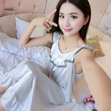 New XXXXL Women Sexy Satin Nightwear Nightgown Plus Size Loose Kaftan Bath Gown Nightdress Summer Sleepwear Wedding Night Dress