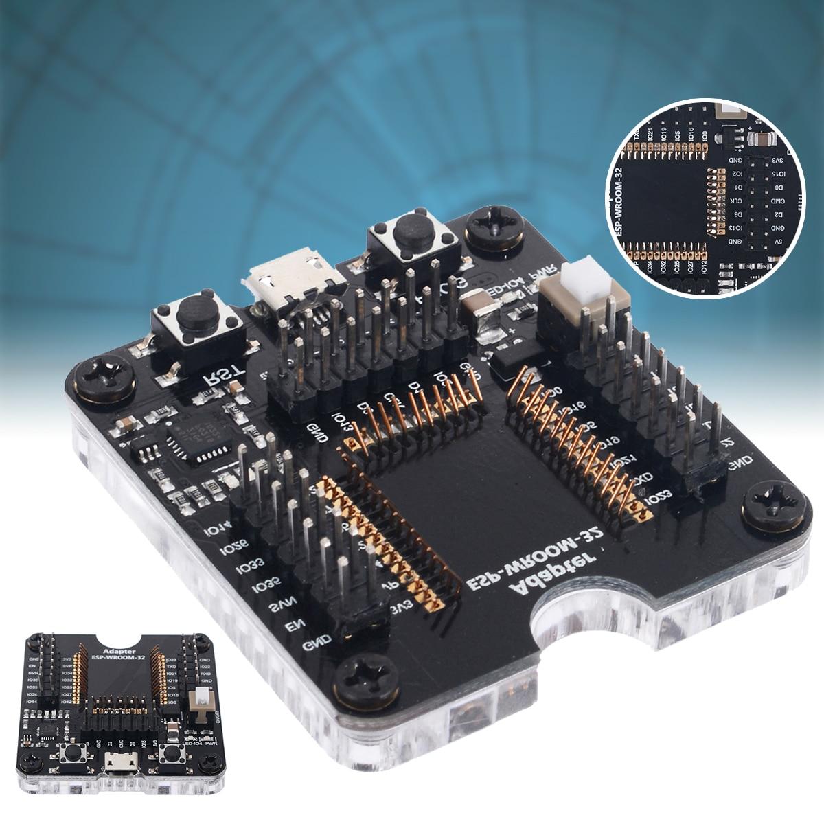 Электрический программатор разъем инструмент ESP32 адаптер гнездо для ESP WROOM 32