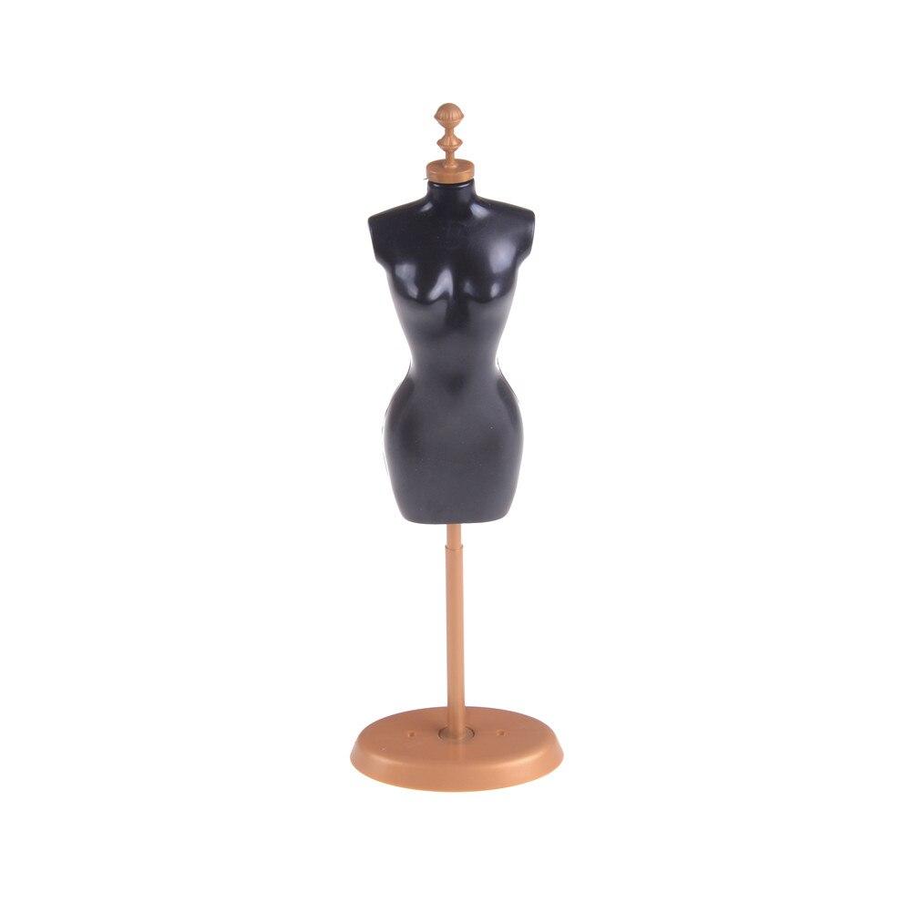 1 stücke Weihnachten Geschenk Kinder Mädchen Spielzeug Puppe Stand Display Halter Kleid Kleidung Kleid Mannequin Modell Stehen für Barbie Puppe acc